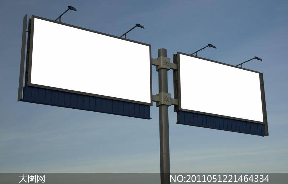 高清图片摄影图片广告牌户外广告公告牌户外灯箱图片