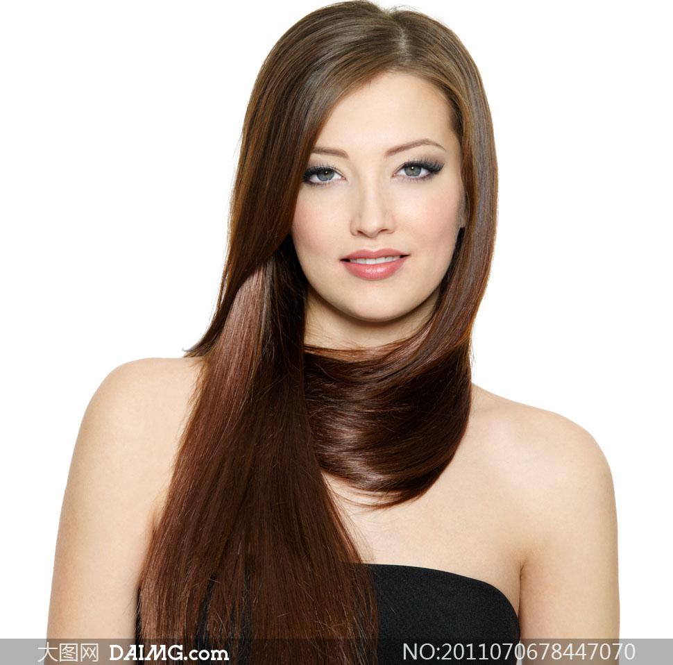 美女发型头发长发