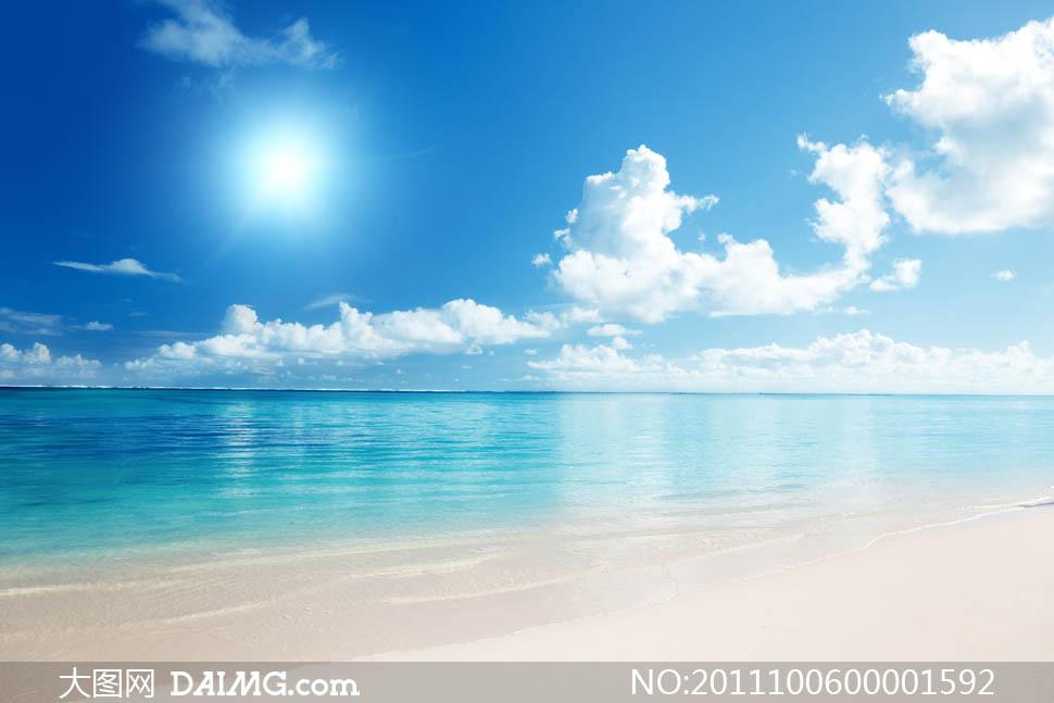 海边风光摄影图片 大图网设计素材下载