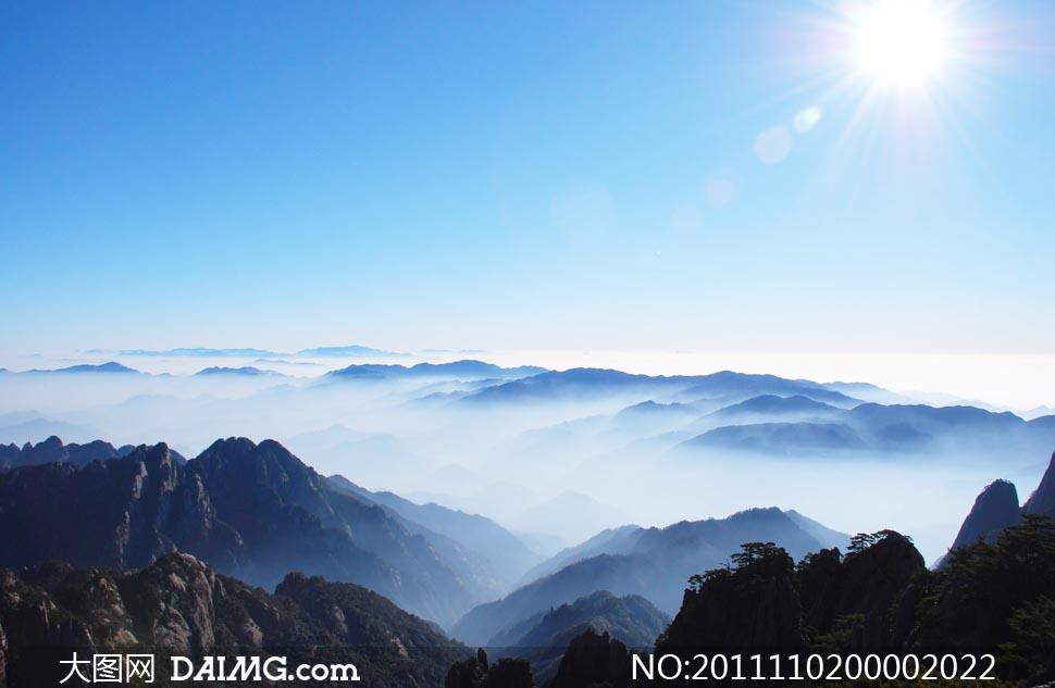 高清云海风景图片