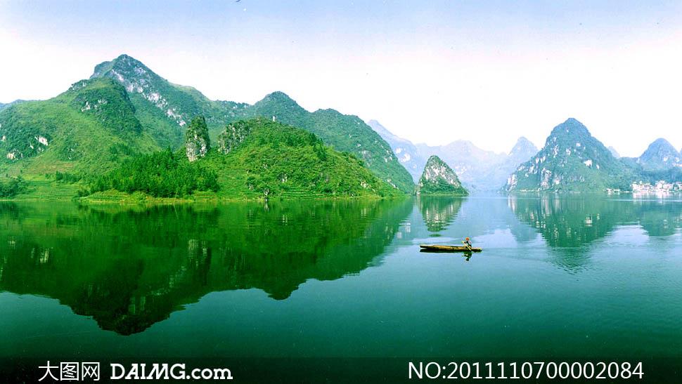 桂林山水的图片 桂林山水风景图片 桂林山水甲天下图片
