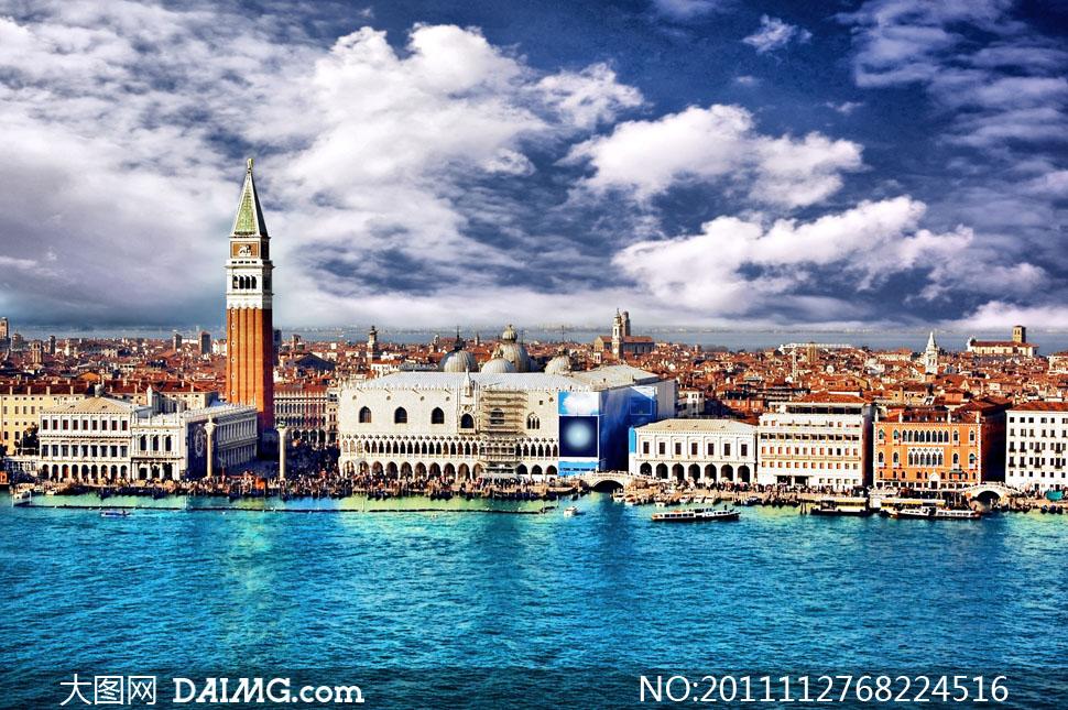 大图首页 高清图片 自然风景 > 素材信息  浪漫威尼斯城市风光高清