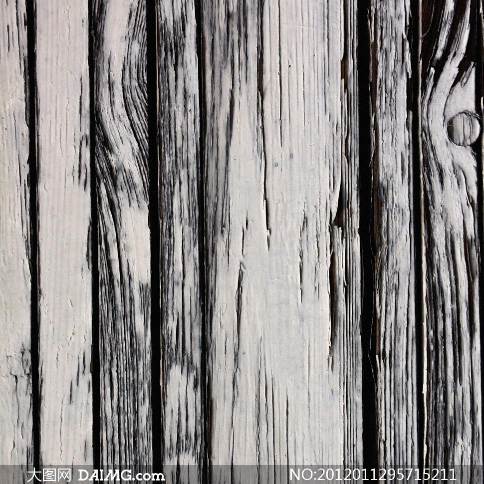 大图素材摄影图片木纹木板木质材质贴图黑色白色黑白