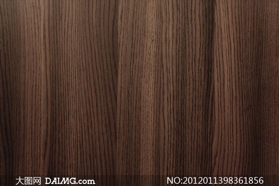 纹路清晰的木板材质高清摄影图片