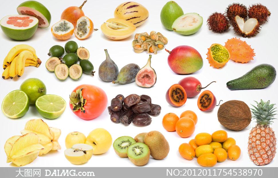 菠萝猕猴桃等水果高清摄影图片 - 大图网设计素材下载