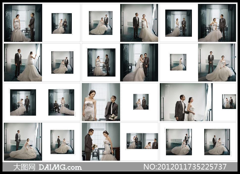 排版_韩式婚纱照相册设计_韩式婚纱  婚纱 照 排版 婚纱 照 排版 模