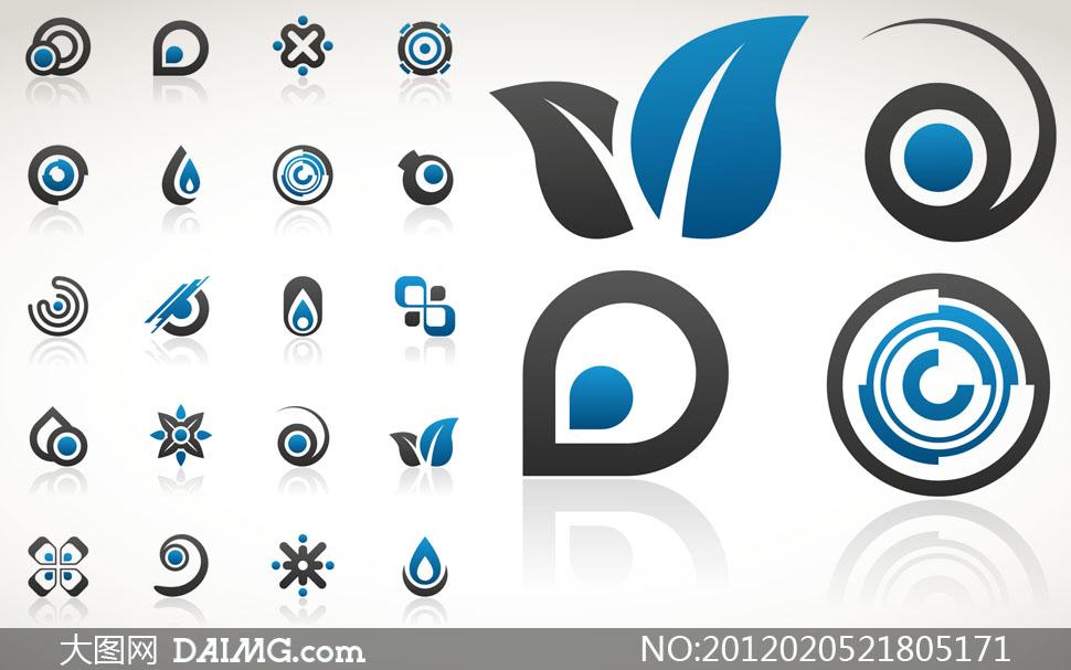 logo设计素材_创意简单logo图片