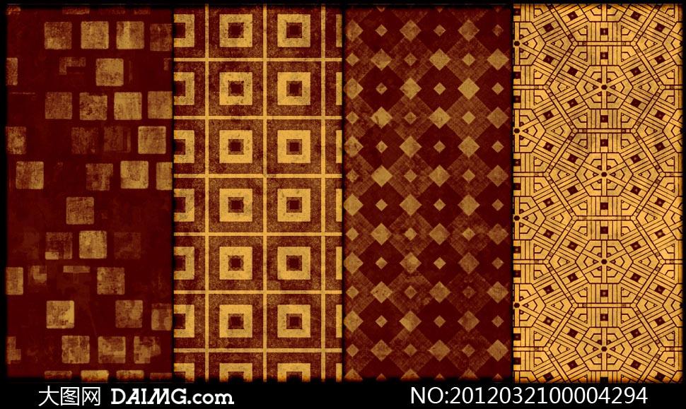 格子图案_方块格子画的图片