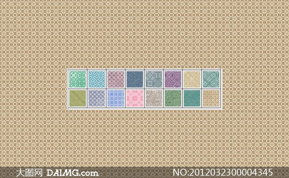 格子背景古典背景填充图案ps图案ps素材 随机标签