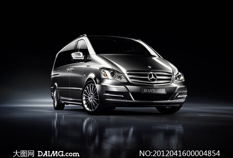 豪华奔驰商务轿车摄影图片 - 大图网设计素材下载