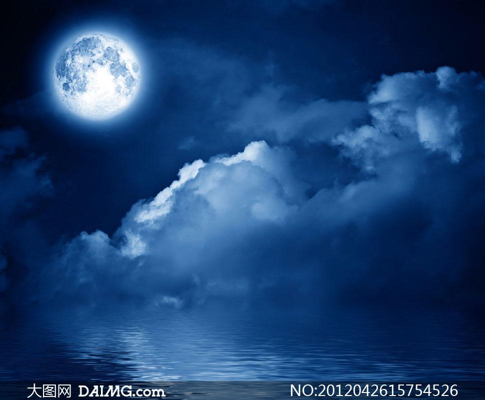 高清大图图片素材摄影天空月亮