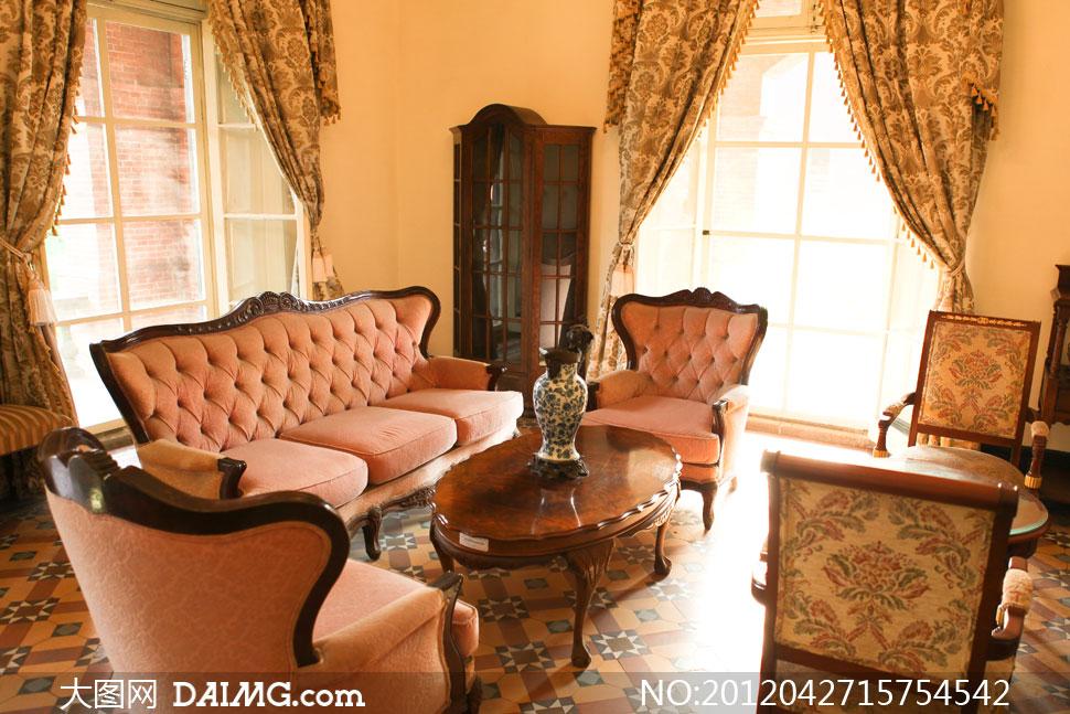 欧式风格室内家居摄影高清图片