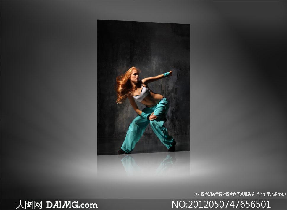 优美舞姿的美女舞者人物摄影高清图片 大图网