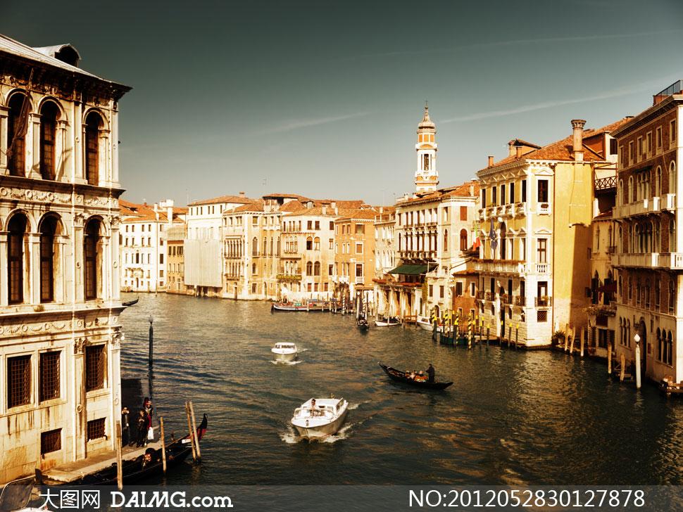 意大利水城威尼斯风光摄影高清图片 - 大图网设