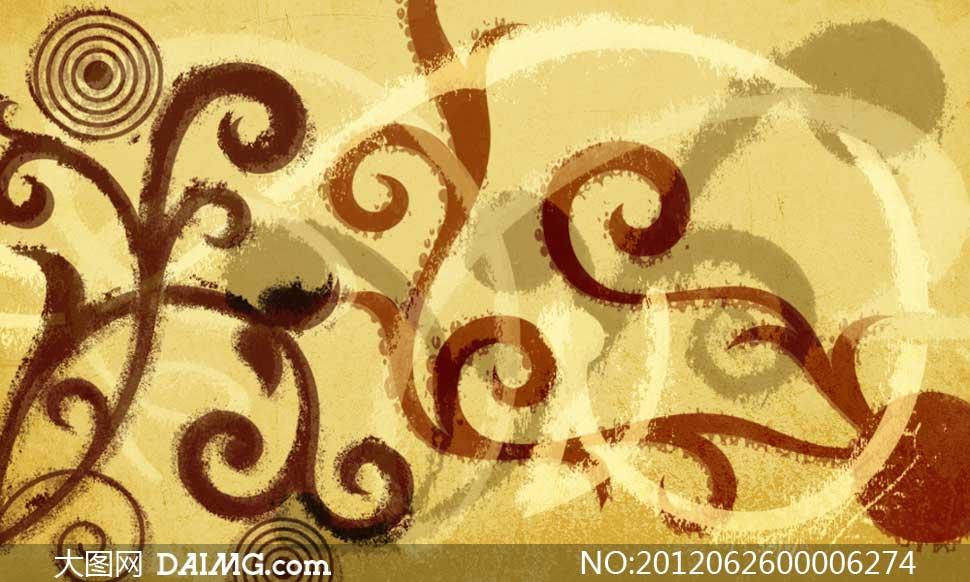 超美的手绘花纹笔刷