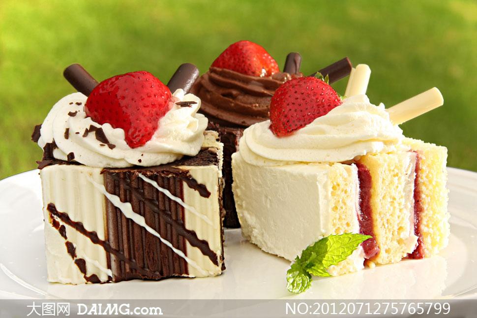 高清摄影大图图片素材美食食物食品蛋糕生活
