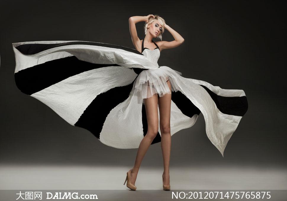 长腿性感美女模特人物摄影高清图片 大图网设