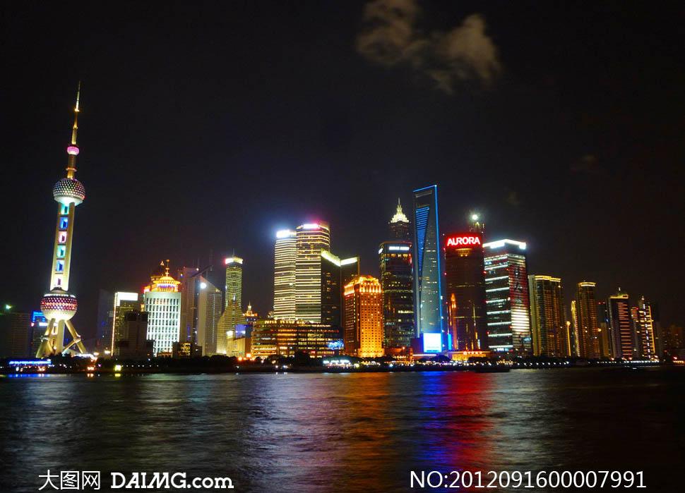 夜景,上海夜景大图,夜景月亮图片大全大图,_城市夜景 .