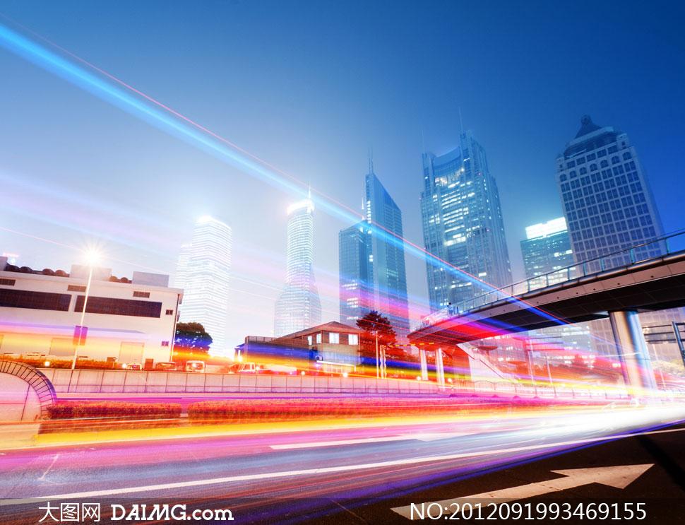 高清摄影大图素材图片风景景观城市公路