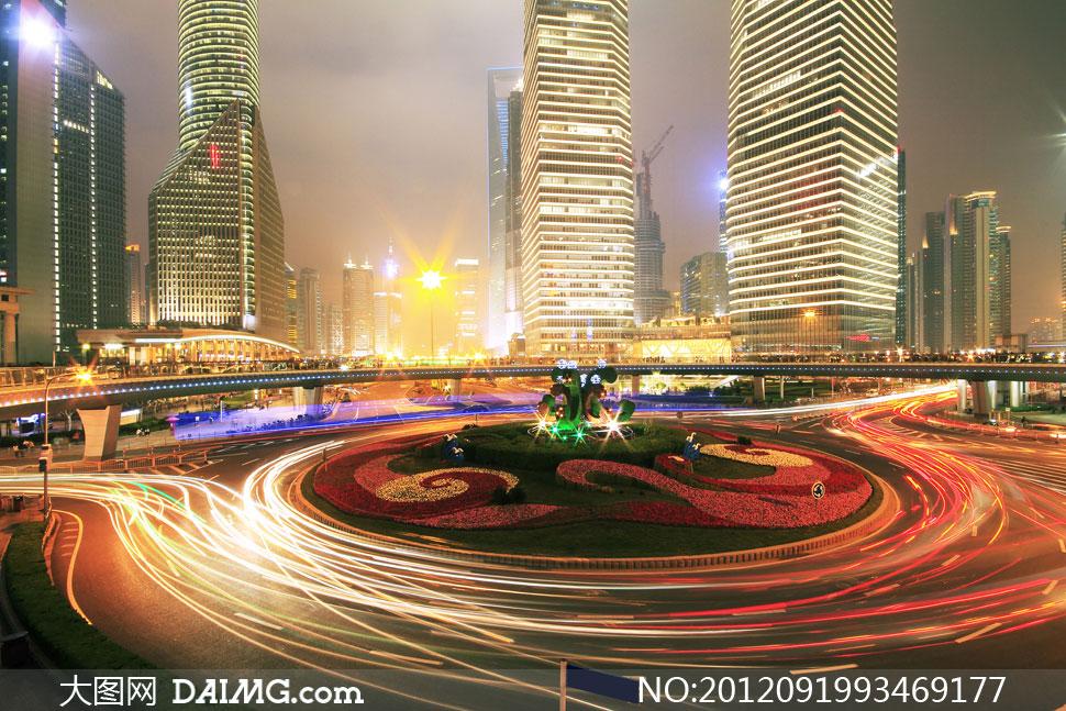 高清摄影大图素材图片风景景观城市公路道路