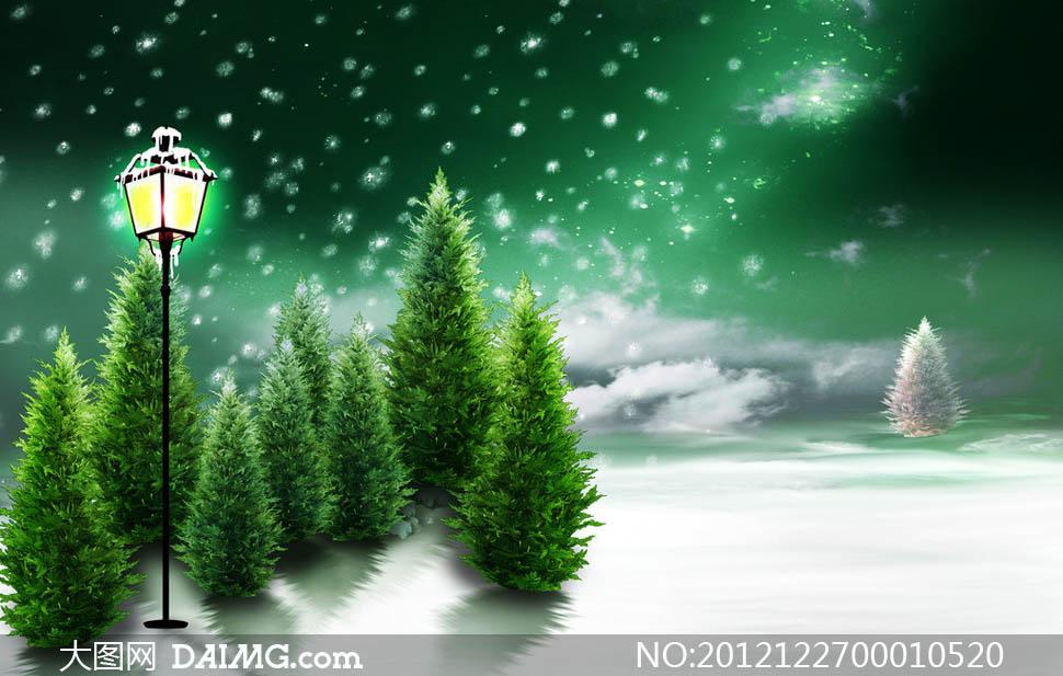 圣诞雪景简笔画大全,可爱圣诞帽子简笔画,可爱圣诞帽子简笔画